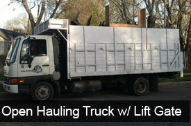 Open Truck Hauling Services